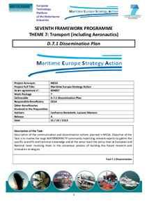 D7.1 - Dissemination Plan