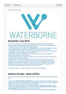 Waterborne Newsletter July 2019