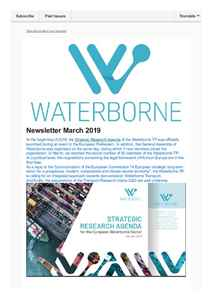 Waterborne Newsletter March 2019
