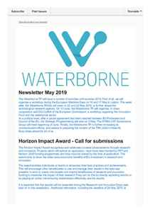 Waterborne Newsletter May 2019