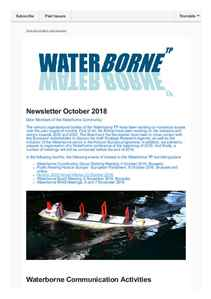 Waterborne Newsletter October 2018